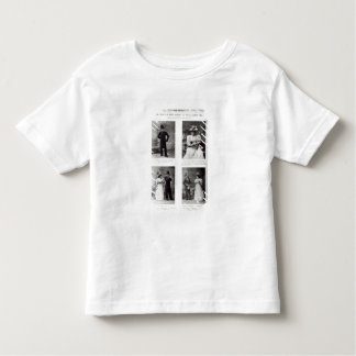 Scenes from The Importance of Being Earnest, by Os Toddler T-shirt