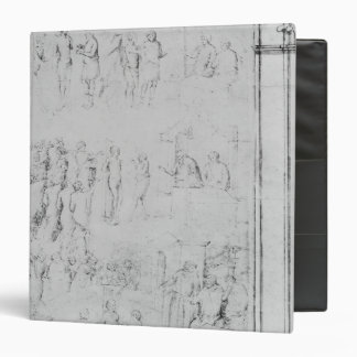 Scenes from the Life of a Saint, detail Vinyl Binders
