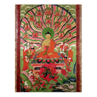 Scenes from the life of Buddha Postcard