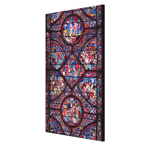 Scenes from the Life of Charlemagne Stretched Canvas Prints