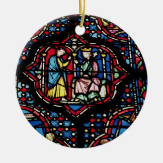 Scenes from the life of King David, 13th century ( Ceramic Ornament