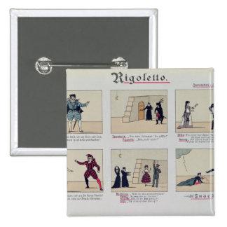 Scenes from the Opera 'Rigoletto' Button