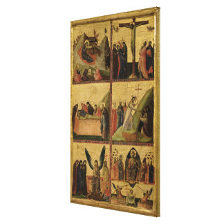 Scenes from the Passion (panel) Canvas Print