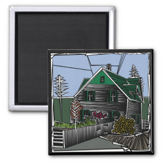 Scenes Green Gables Magnet
