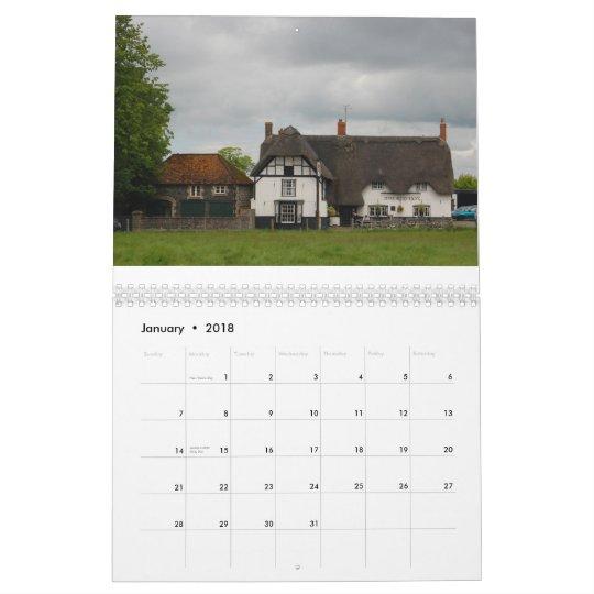 Scenes of Ancient Avebury Calendar