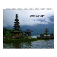 Scenes of Bali Calendar