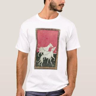 Scenes of courtly hawkin T-Shirt