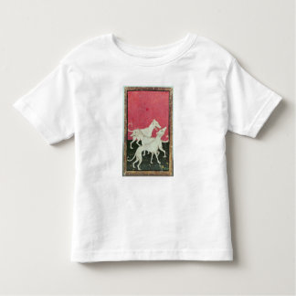 Scenes of courtly hawkin toddler t-shirt