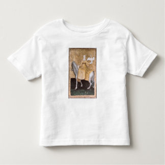 Scenes of courtly hawking toddler t-shirt