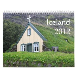 Scenes of Iceland 2012 Calendars