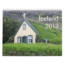 Scenes of Iceland 2012 Calendar
