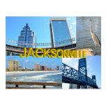 Scenes of Jacksonville, Florida Postcard