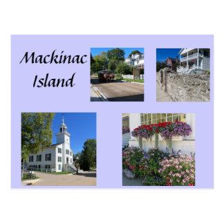 Scenes of Mackinac Postcard