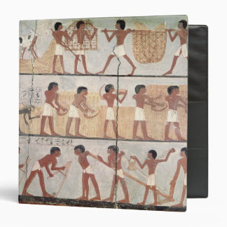 Scenes of sowing from the Tomb of Unsou 3 Ring Binder