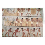 Scenes of sowing from the Tomb of Unsou Card