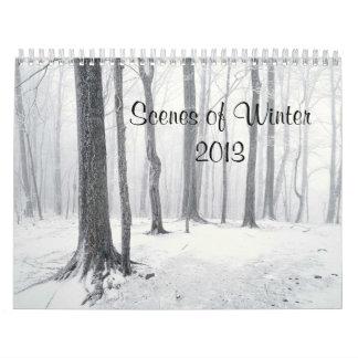 Scenes of Winter 2013  Calendar