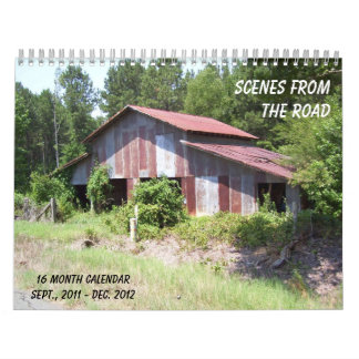 Scenes on the Road 2012 Calendar - Add your pic!