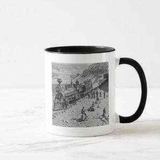 Scenes on the Union Pacific Railroad B&W Mug