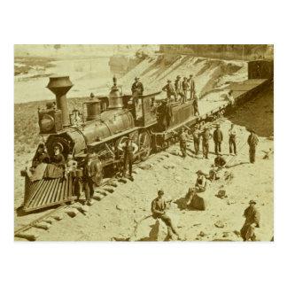 Scenes on the Union Pacific Railroad Postcard