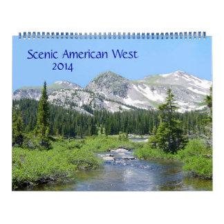 Scenic American West 2014 Calendar