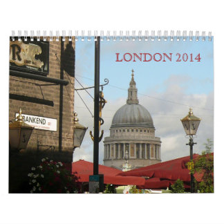 Scenic and Classic London Photography Calendar