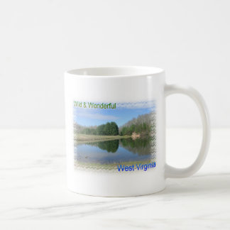 Scenic Appalachian Lake Coffee Mug