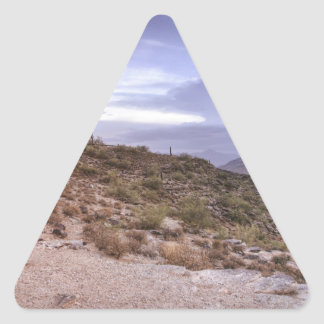 Scenic Arizona Triangle Sticker