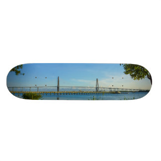 Scenic Arthur Ravenel Bridge Skateboard Deck