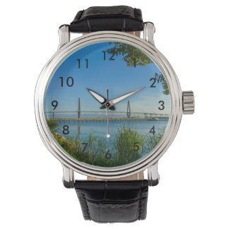 Scenic Arthur Ravenel Bridge Wrist Watch