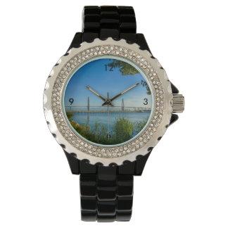 Scenic Arthur Ravenel Bridge Wristwatch
