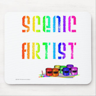 Scenic Artist For Light Colored Products Mouse Pad