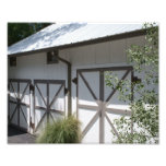 Scenic Barn Doors Photo Print