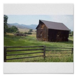 Scenic barns posters
