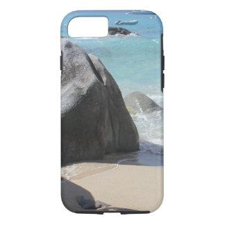 Scenic Beach at The Baths on Virgin Gorda, BVI iPhone 8/7 Case