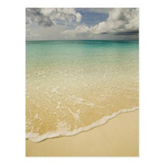 Scenic beach, Grace Bay, Provodenciales, Turks Postcard
