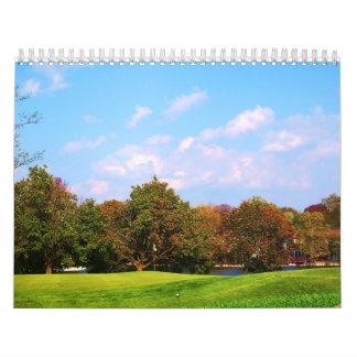 Scenic beauty wall calendars