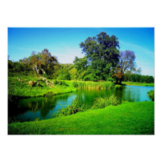 Scenic beauty of nature poster