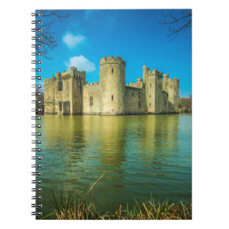 Scenic Bodiam Castle in East Sussex England Spiral Notebook