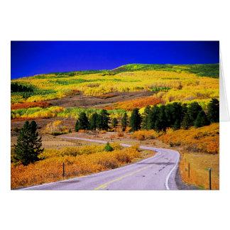 Scenic Byway 12 Utah Fall Card