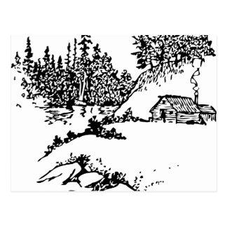 Scenic Cabin Post Card