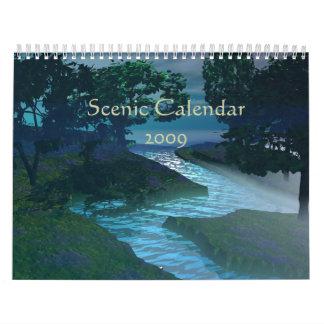 Scenic Calendar 2009