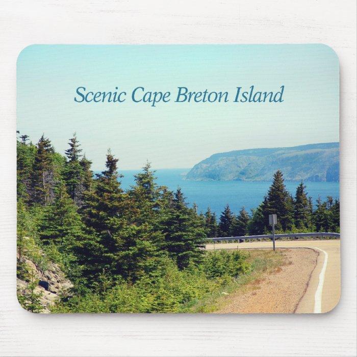 Scenic Cape Breton Island Mouse Pad