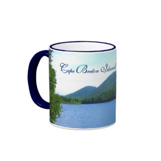 Scenic Cape Breton Island Ringer Coffee Mug