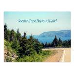 Scenic Cape Breton Island Postcard