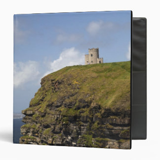 Scenic Cliffs of Moher and O'Brien's Tower. 3 Ring Binders