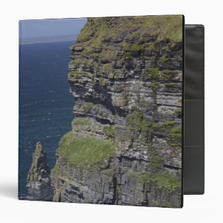 Scenic Cliffs of Moher and O'Brien's Tower Binder