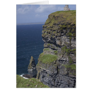 Scenic Cliffs of Moher and O'Brien's Tower Card