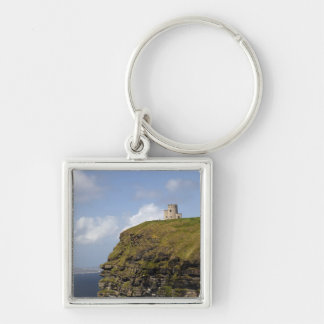 Scenic Cliffs of Moher and O'Brien's Tower. Keychain