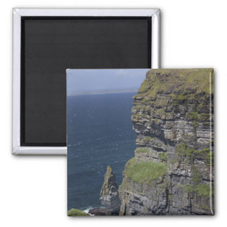Scenic Cliffs of Moher and O'Brien's Tower Magnet