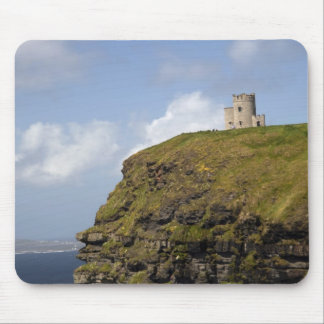 Scenic Cliffs of Moher and O'Brien's Tower. Mouse Pad